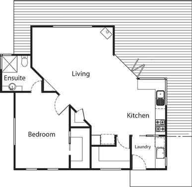Old Dairy Cottage floorplan